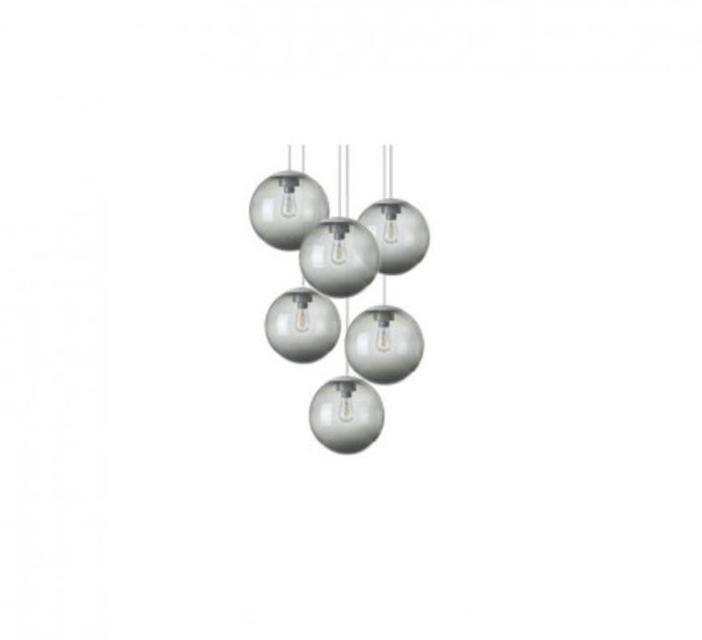 Spheremaker 6 spheres alex bergman lustre chandelier  fatboy 100085  design signed 59212 product