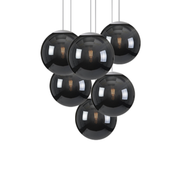 Spheremaker 6 spheres alex bergman lustre chandelier  fatboy 100082  design signed 59226 product