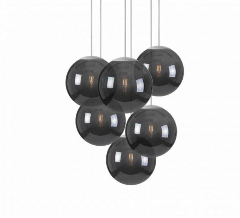 Spheremaker 6 spheres alex bergman lustre chandelier  fatboy 100082  design signed 59227 product
