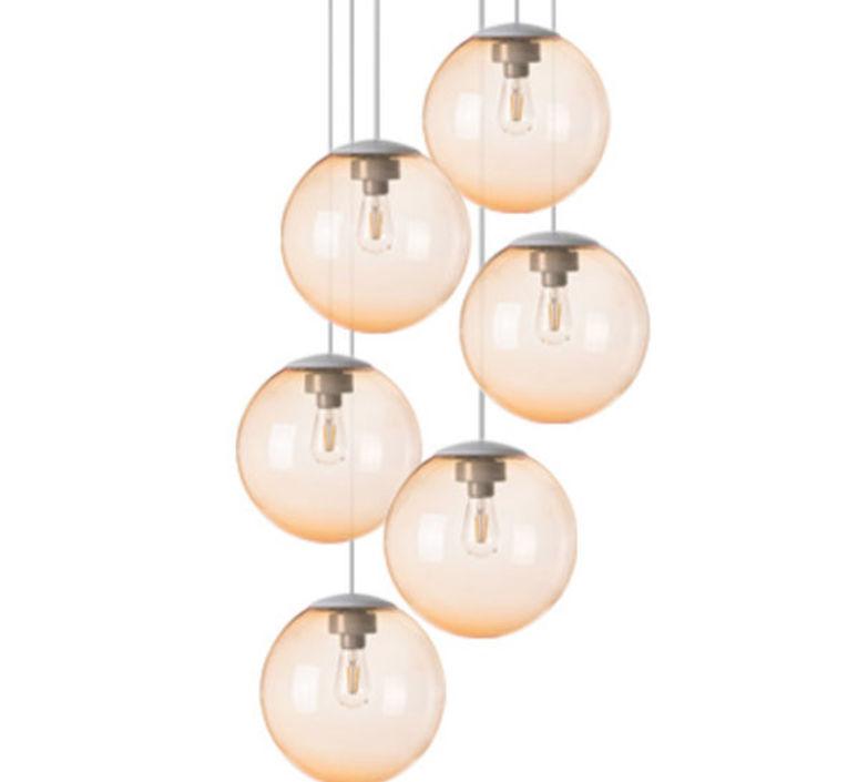 Spheremaker 6 spheres alex bergman lustre chandelier  fatboy 100087  design signed 59218 product