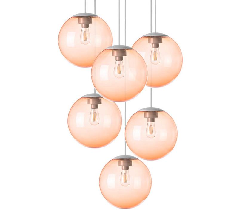 Spheremaker 6 spheres alex bergman lustre chandelier  fatboy 100088  design signed 59216 product