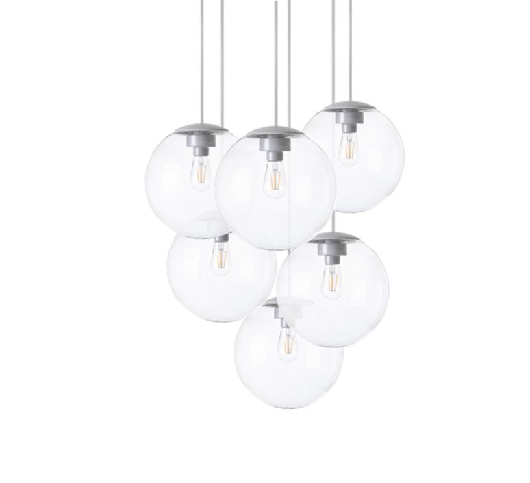 Spheremaker 6 spheres alex bergman lustre chandelier  fatboy 100083  design signed 59220 product