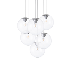 Spheremaker 6 spheres alex bergman lustre chandelier  fatboy 100083  design signed 59220 thumb