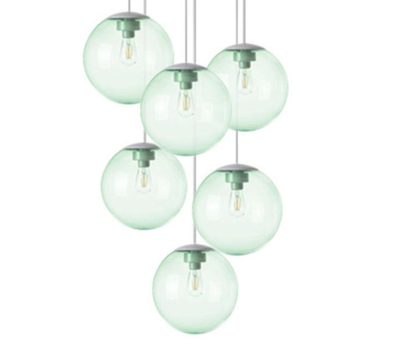 Spheremaker 6 spheres alex bergman lustre chandelier  fatboy 100068  design signed 59205 product