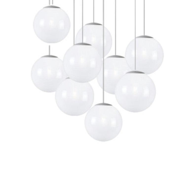 Spheremaker 9 spheres alex bergman lustre chandelier  fatboy 100057  design signed 59247 product