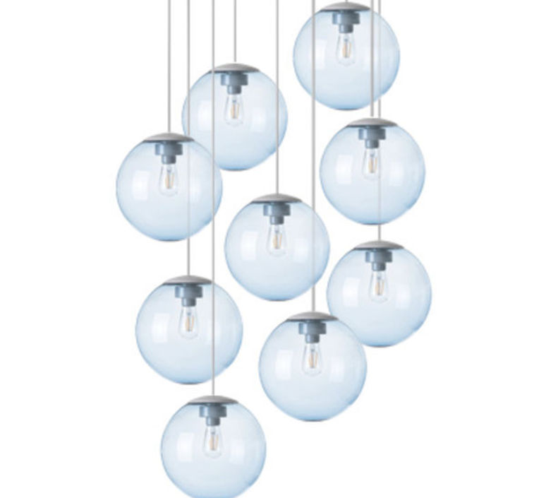 Spheremaker 9 spheres alex bergman lustre chandelier  fatboy 100050  design signed 59231 product