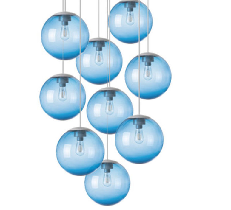 Spheremaker 9 spheres alex bergman lustre chandelier  fatboy 100061  design signed 59245 product