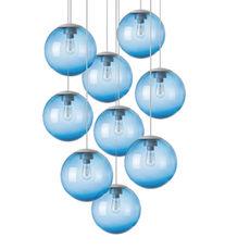Spheremaker 9 spheres alex bergman lustre chandelier  fatboy 100061  design signed 59245 thumb