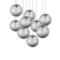Spheremaker 9 spheres alex bergman lustre chandelier  fatboy 100049  design signed 59237 thumb