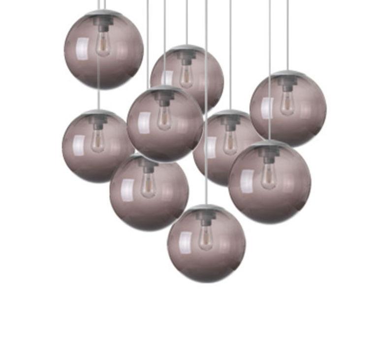 Spheremaker 9 spheres alex bergman lustre chandelier  fatboy 100048  design signed 59239 product