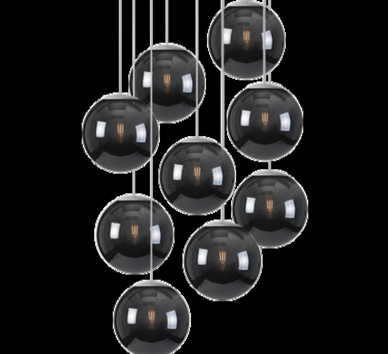 Spheremaker 9 spheres alex bergman lustre chandelier  fatboy 100056  design signed 59249 product