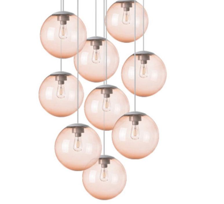 Spheremaker 9 spheres alex bergman lustre chandelier  fatboy 100064  design signed 59241 product