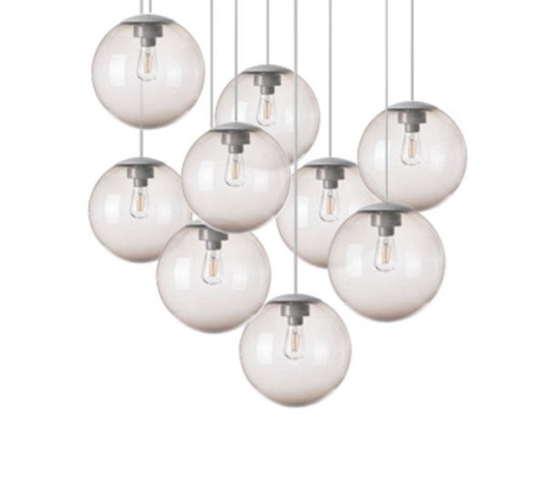 Spheremaker 9 spheres alex bergman lustre chandelier  fatboy 100045  design signed 59235 product