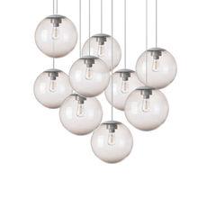 Spheremaker 9 spheres alex bergman lustre chandelier  fatboy 100045  design signed 59235 thumb