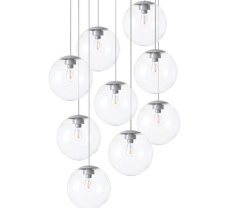 Spheremaker 9 spheres alex bergman lustre chandelier  fatboy 100066  design signed 59243 product