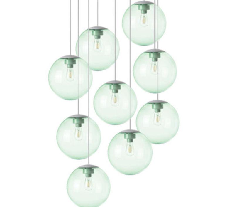 Spheremaker 9 spheres alex bergman lustre chandelier  fatboy 100054  design signed 59229 product