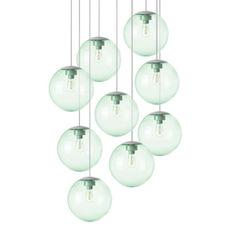 Spheremaker 9 spheres alex bergman lustre chandelier  fatboy 100054  design signed 59229 thumb