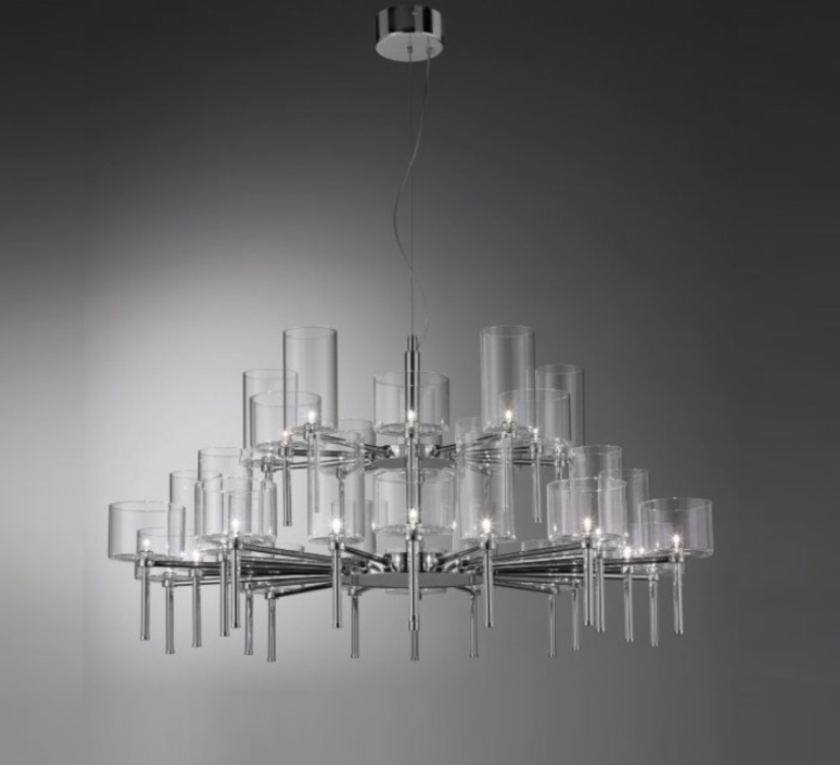 Spillray 30 manuel vivian lustre chandelier  axo light sp 30 gr cr  design signed 34321 product