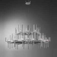 Spillray 30 manuel vivian lustre chandelier  axo light sp 30 gr cr  design signed 34321 thumb