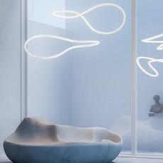 Squiggle 4 giovanni lauda lustre chandelier  rotaliana 1sqh400063zl0  design signed nedgis 115331 thumb