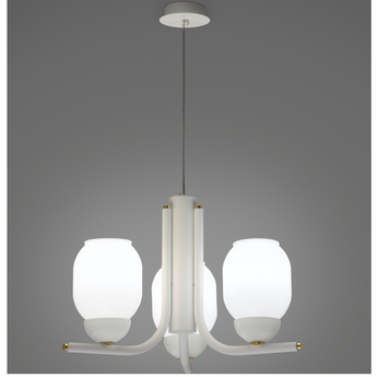 Lustre the chandelier 3 bras blanc l57cm h35cm alma light normal