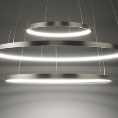 Zero round  suspension pendant light  panzeri m03302 075 0210  design signed nedgis 81925 thumb