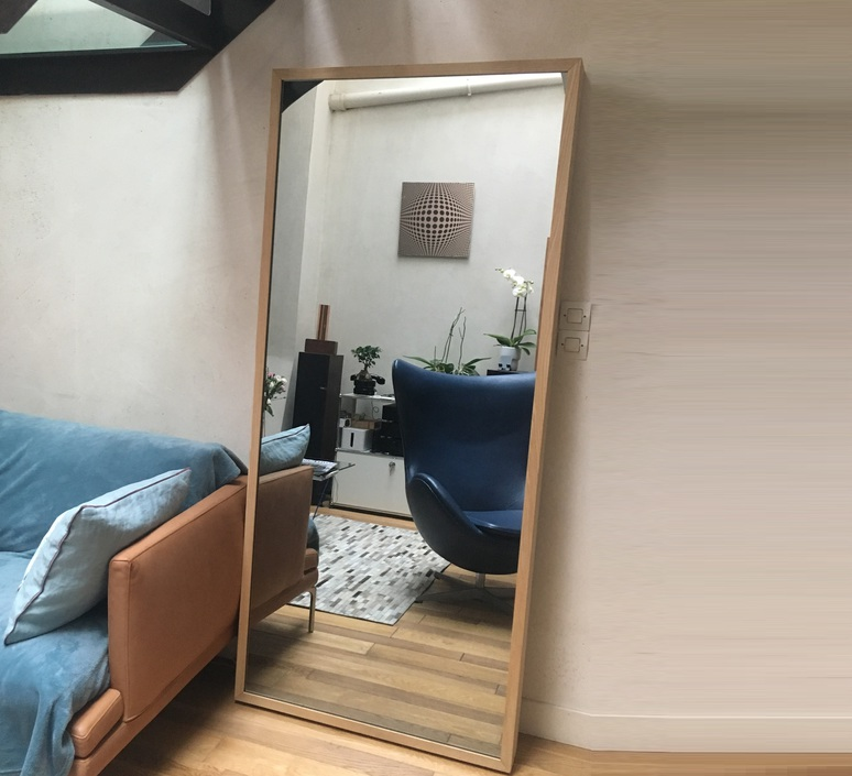 Miroir maxi benjamin mery mobilier lumineux furniture  lumneo maxi01020201   design signed nedgis 71404 product