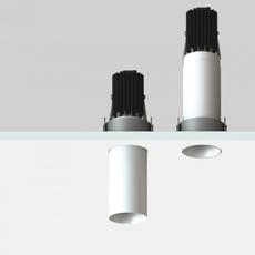 Nyx tube spot encastre telescopique mokka h70mm o40mm luciferos 105713 thumb