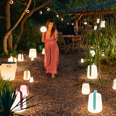 Inoui tabouret lumineux bluetooth studio fermob objet lumineux ceiling fan light  fermob 330421  design signed nedgis 106721 thumb