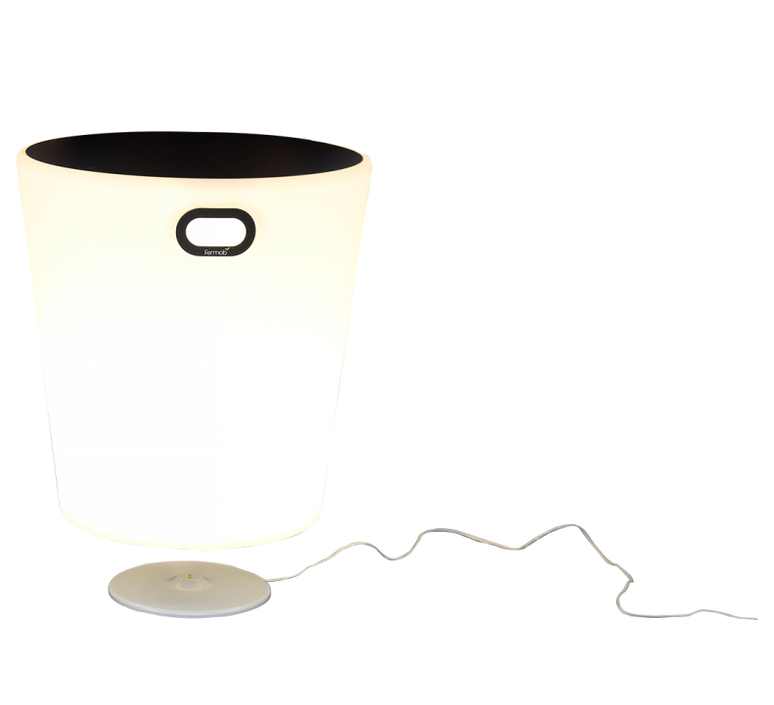 Inoui tabouret lumineux bluetooth studio fermob objet lumineux ceiling fan light  fermob 330447  design signed nedgis 106724 product
