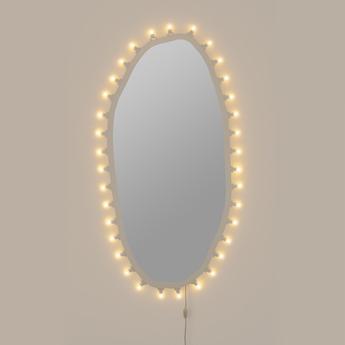 Objet lumineux mirror big blanc 2700k 875lm l72cm h150cm seletti normal