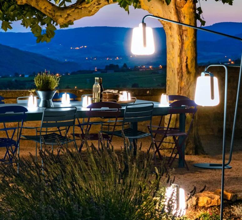 Balad tristan lohner lampadaire d exterieur outdoor floor light  fermob 3631 26  design signed 70391 product