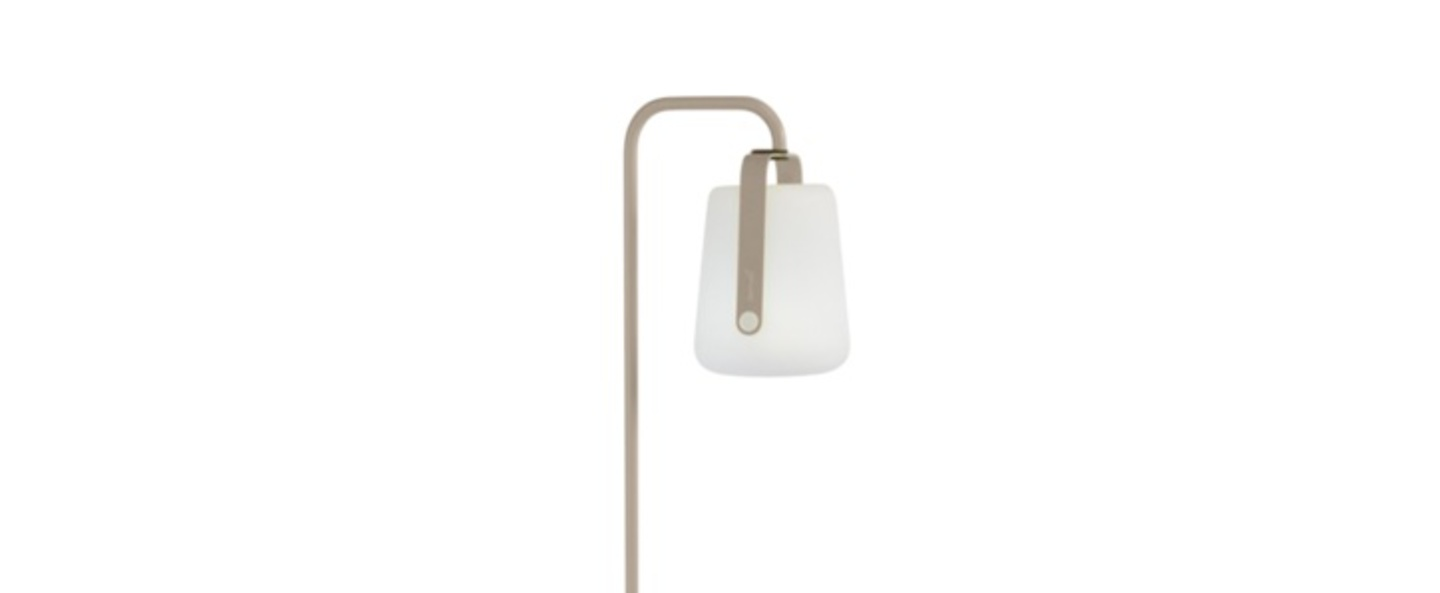Pied simple pour baladeuse d exterieur balad muscade h157cm l20cm led fermob normal