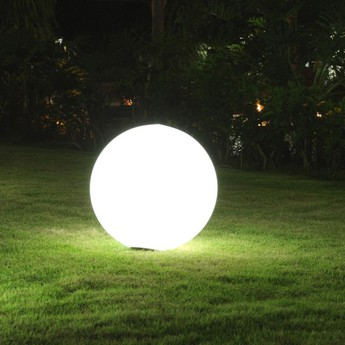 Pique de fixation pour lampe d exterieur globo slide normal