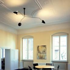 3 bras pivotants serge mouille editionssergemouille p3b noir luminaire lighting design signed 20845 thumb