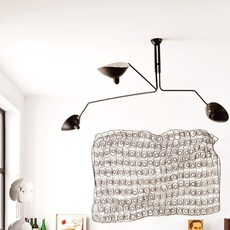 3 bras pivotants serge mouille editionssergemouille p3b noir luminaire lighting design signed 20848 thumb