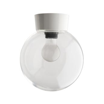 Plafonnier 72 blanc globe plastique o20 h25cm zangra normal