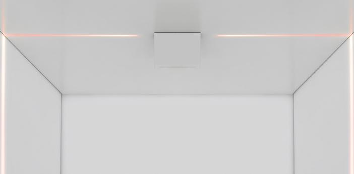 Plafonnier antarktikos rgb blanc l11 8cm h8 2cm artemide normal
