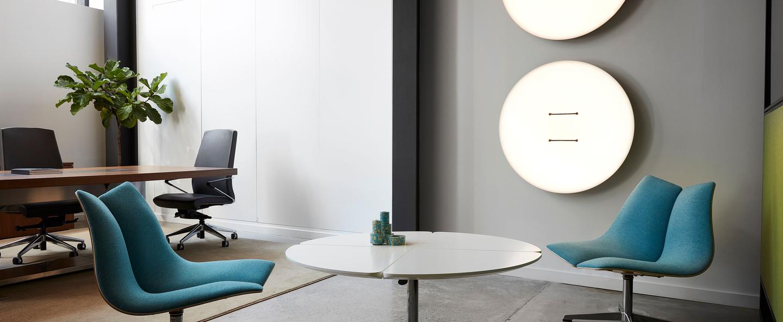 Plafonnier applique button 60 blanc led dimmable 2700k l60cm h60cm andlight normal