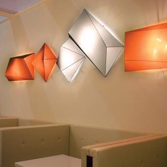 Plafonnier applique murale ukiyo blanc l110cm p55cm axo light normal