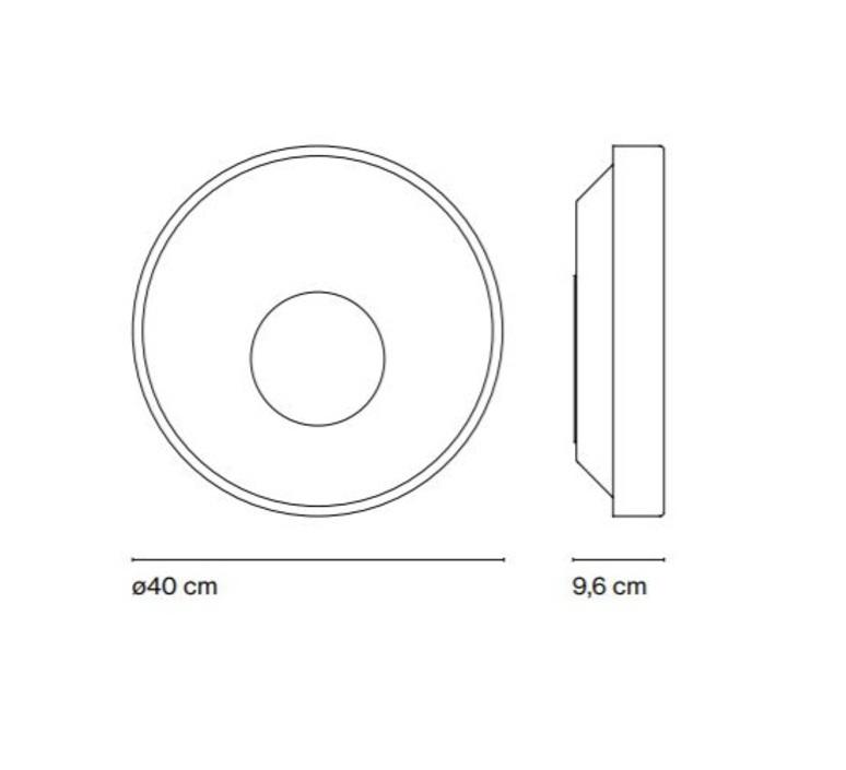 Sun yonoh estudio creativo plafonnier ceilling light  marset a671 005  design signed 61793 product