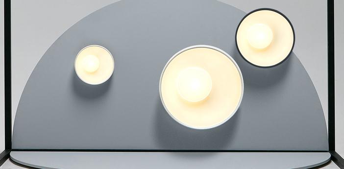 Plafonnier applique sun blanc led 2700k 5176lm dimmable l60cm h60cm marset normal