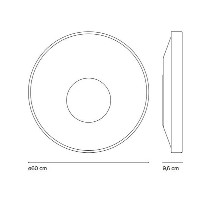 Sun yonoh estudio creativo plafonnier ceilling light  marset a671 010  design signed 61812 product