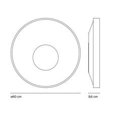 Sun yonoh estudio creativo plafonnier ceilling light  marset a671 010  design signed 61812 thumb
