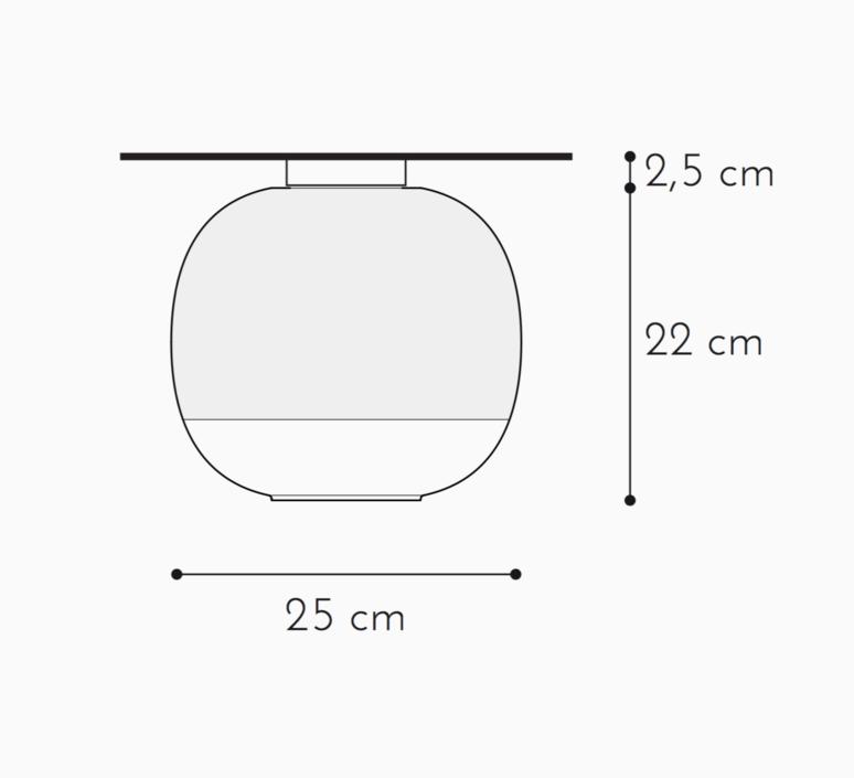 Bale enrico zanolla plafonnier ceilling light  zanolla ltbac25p  design signed 54931 product