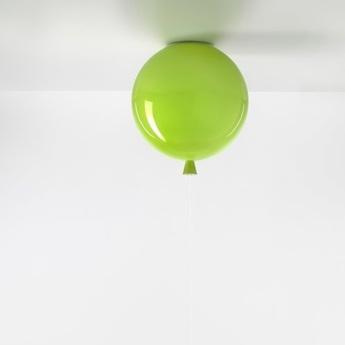 Plafonnier ballon memory vert brillant o30cm brokis normal