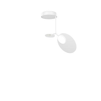Plafonnier ballon pendant u1 blanc led 3000k 500lm o39cm h53cm tunto normal
