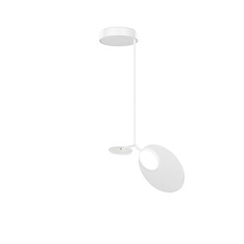 Plafonnier ballon pendant u1 blanc led 3000k 500lm o39cm h98cm tunto normal