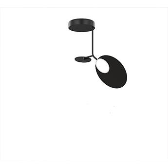 Plafonnier ballon pendant u1 noir led 3000k 500lm o39cm h53cm tunto normal