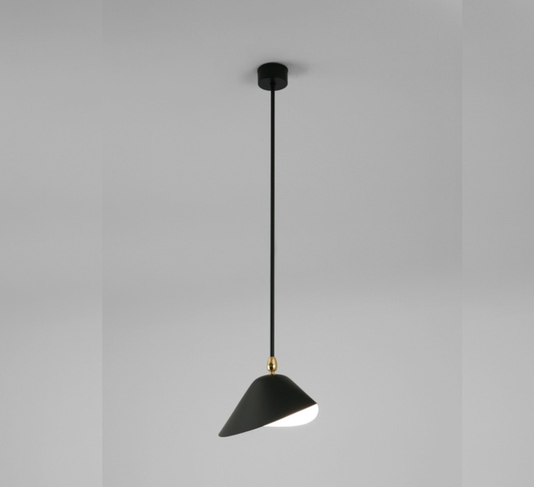 2 bras fixes serge mouille editionssergemouille p2b noir luminaire lighting design signed 109164 product